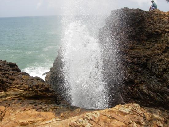 Blow hole - Sri Lanka